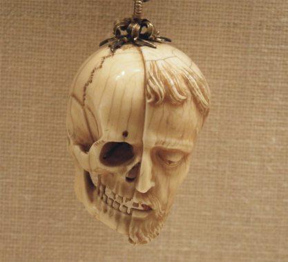Rosary skull